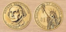 2007 P & D George Washington Presidential Dollars 2-Coin Set