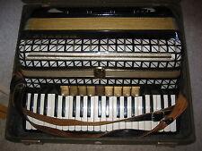 Black Hohner Atlantic III N IIIN accordion fisarmonica needs service