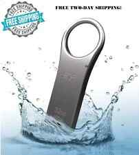 Waterproof Flash Drive 32GB USB 2.0 Metal Keychain Memory Stick Data Storage New
