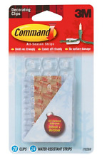 3M Command Indoor/Outdoor Decorating Clips Fairy Lights Christmas Decorations