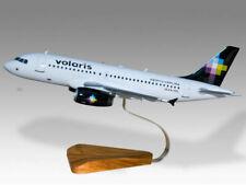 Airbus A310 Volaris Solid Mahogany Kiln Dried Wood Handcrafted Desktop Model