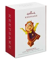 Hallmark 2018 COGSWORTH Ornament Limited Edition DISNEY Beauty and Beast GIFT