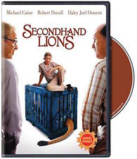 SECONDHAND LIONS DVD - SINGLE DISC EDITION - NEW UNOPENED - MICHAEL CAINE