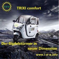 Trixi comfort 25/45  Elektromobil Mopedauto Kabinenroller  mit EEC/COC Zulassung