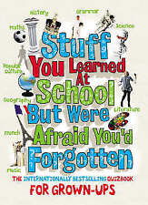 Stuff You Learned at School But Were Afraid You'd Forgotten, Anonymous, New Book