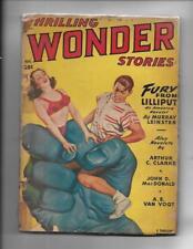 Thrilling Wonder Stories Aug 1949 Arthur C Clark / Ray Bradbury Stories!
