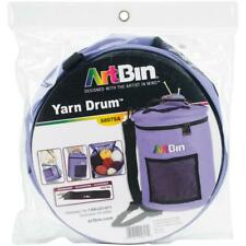 "ArtBin Yarn Drum, Knitting and Crochet Tote Bag, Periwinkle, 12"" x 12.75"""