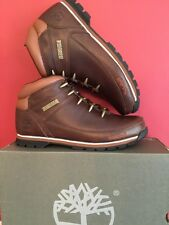 TIMBERLANDS MENS EURO SPRINT Hiker BOOTS BROWN size Uk 7.5 BRAND NEW WITH BOX