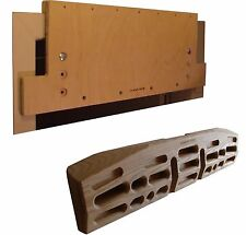 Crusher Matrix and Mounting Board Combo - Fingerboard, Climbing Hold, Hang Board