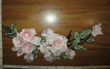 Appliques Embroidery Patch Motif Floral Multi-Layered 3D Flower for Sew on 1pc