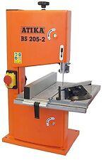 Bandsäge Modellbausäge ATIKA BS 205-2 bis 45° schwenkbarer Aluminium Sägetisch