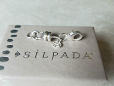 SILPADA Magnetic Necklace Extender 925 Sterling Silver Bracelet Chain NEW N1926