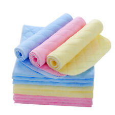 Baby cloth liner  Reusable  10PCS  diaper  inserted into 3 layers of cotton