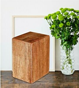 Wooden Cremation Funeral Urns For Pets Ashes Keepsake Light Color Wooden Box
