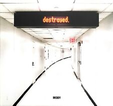 Moby CD Destroyed - Limited Edition, Digibook - Europe (M/M)