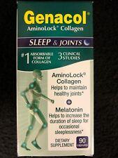 Genacol AminoLock Collagen Sleep & Joints - 90 Caps - Healthy Joints - Melatonin