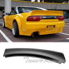 For 89-94 240SX S13 Hatchback Bunny Style Rear Trunk Spoiler Wing