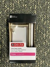 NEW! 75950-CZ Delta Trinsic Single Post Toilet Paper Holder in Champagne Bronze