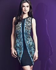 Roberto Cavalli Tapestry-Print Sleeveless Jersey Dress ( 38 IT- 2US)