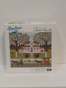 new 2011 Hasbro Charles Wysocki Ice Cream & Hopscotch 1000 Piece Jigsaw Puzzle