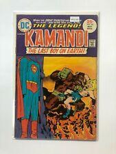 Kamandi #29 DC Comic Book Bronze Age Jack Kirby MO2-163