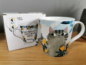 Planet Cat Mug - Time Spent With A Cat