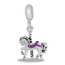 Davinci Beads Charm - CAROUSEL HORSE Dangle - Buy 2 or More DaVinci and Save!