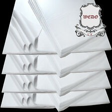 "20""x30"" White Tissue Paper Acid Free For Clothes Packaging Wrapping Handcraft"