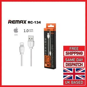 Genuine iPhone Charger Fast For Apple Long Cable USB Lead 5 6 7 8 X XS XR REMAX
