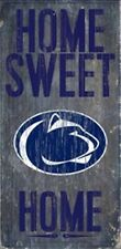 Penn State Nittany Lions Home Sweet Home Wood Sign [NEW] NCAA Man Cave Den Wall