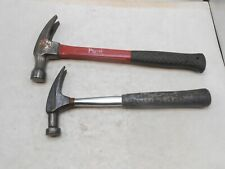 "Carpenter""s rip claw hammers, 2 pcs inc. Plumb"