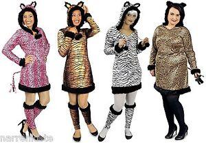 Leopard Leoparden Kostüm Kleid Katze Tiger Löwe Maus Biene Käfer Zäbra Raubkatze