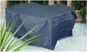 PBC292 292 x 100cm Premium Bar Setting Cover, waterproof PVC, 400gsm, Grey Pewte