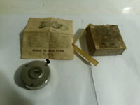 Benton tally O register with directions box vintage tin compass lot 2