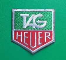 MOTOR RACING OILS, FUELS & TYRES SEW ON / IRON ON PATCH:- TAG (a) HEUER