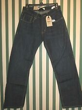 NWT Boy's Levi's 505 Regular Fit Straight Leg Blue Jeans Size 16R 28/28