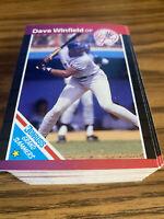 (100) 1989 Donruss Dave Winfield #6 New York Yankees NR-MT+ Recent Set Breaks