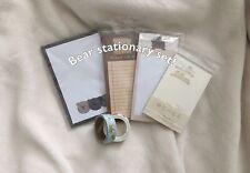 Bear Stationary Set (14 Items)