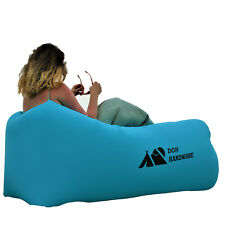 Inflatable Air Lounger Outdoor Sofa Lazy Bed Couch Bag Camping Beach Holiday Uk