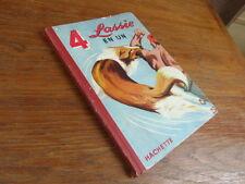 ENFANTINA vintage / 4 LASSIE EN UN album Hachette 1953