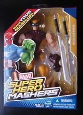 Marvel Super Hero Mashers WOLVERINE action figure (Brown suited version--VHTF!)