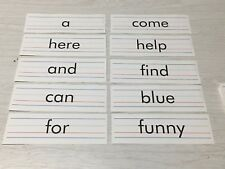 Pre Primer Dolch Sight Words Set of 40 Words Cards Teacher Homeschool New