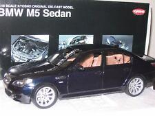 1/18 KYOSHO BMW M5 SEDAN , CARBON BLACK , NEW