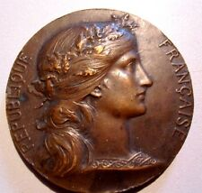MARIANNEMEDAL BY DUPUIS / PREPARATION MILITAIRE /  BRONZE MEDAL / 50 mm / N126