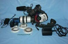 Canon Xl1S Camcorder - Black/White Video Camera Vcr Mini Dv With Extras