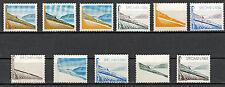 Probedruck Test Stamp Specimen Pruebas 11 Marken  1984