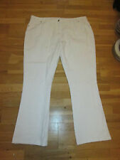 cotton traders white stretch jeans bootcut size 26 leg 33 brand new with tags