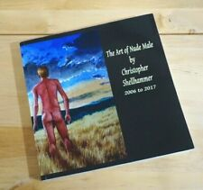 Signed Nude Male Art Book Painting & Artworks in 2006 to 2017 by C.shellhammer