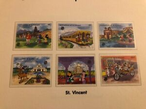 Disney World of Postage Stamps - Mickey's Visit to India