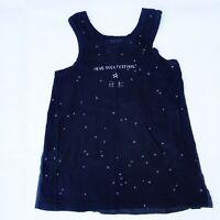 Top T-shirt débardeur noir  IKKS  série Rock - 12 ans / 150 cm